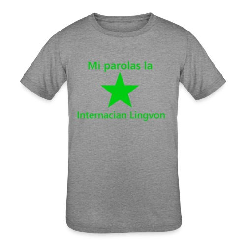 I speak the international language - Kids' Tri-Blend T-Shirt