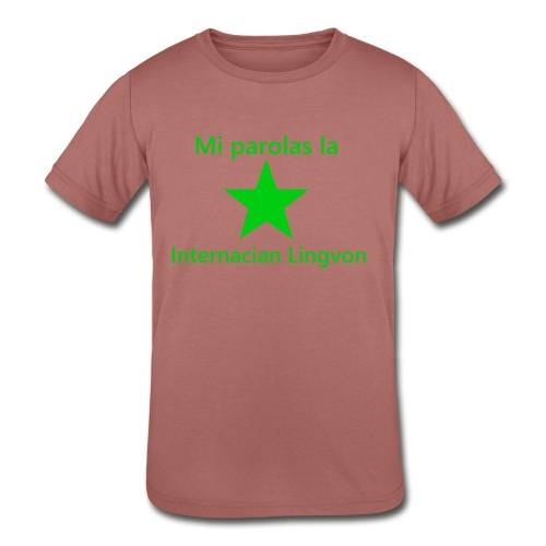 I speak the international language - Kids' Tri-Blend T-Shirt