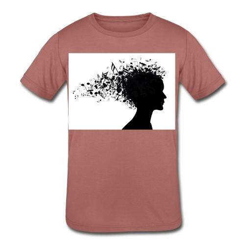 music through my head - Kids' Tri-Blend T-Shirt