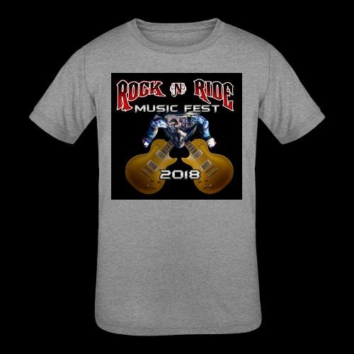 RocknRide Design - Kids' Tri-Blend T-Shirt
