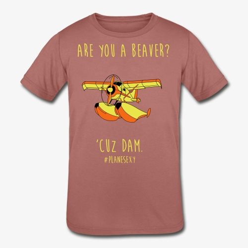 Are you a Beaver? - Kids' Tri-Blend T-Shirt