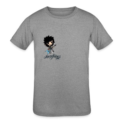axelofabyss self portrait - Kids' Tri-Blend T-Shirt