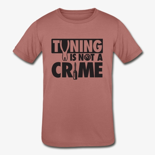 Tuning is not a crime - Kids' Tri-Blend T-Shirt