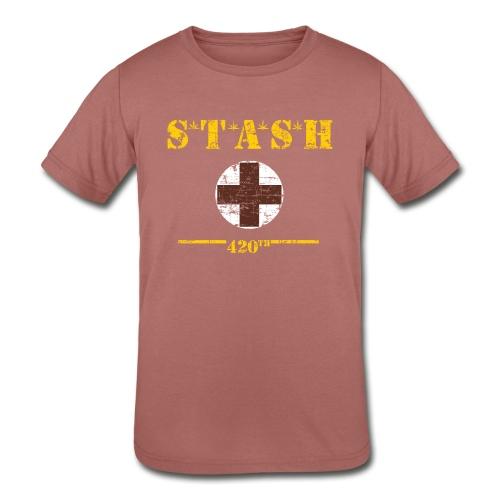 STASH-Final - Kids' Tri-Blend T-Shirt