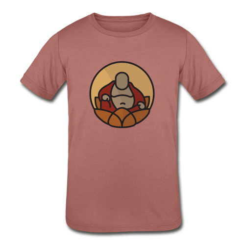 AMERICAN BUDDHA CO. COLOR - Kids' Tri-Blend T-Shirt