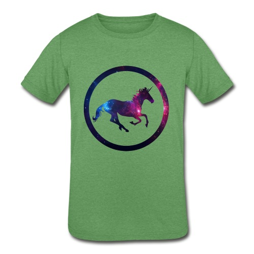 Believe Unicorn Universe 1 - Kids' Tri-Blend T-Shirt