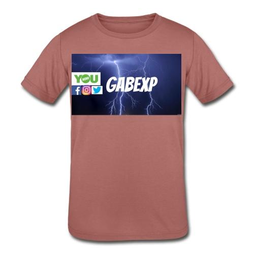 gabexp 1 - Kids' Tri-Blend T-Shirt