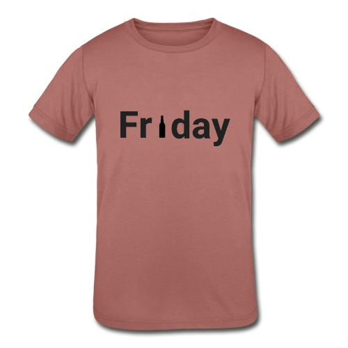 Friday custom print tshirt for men - Kids' Tri-Blend T-Shirt