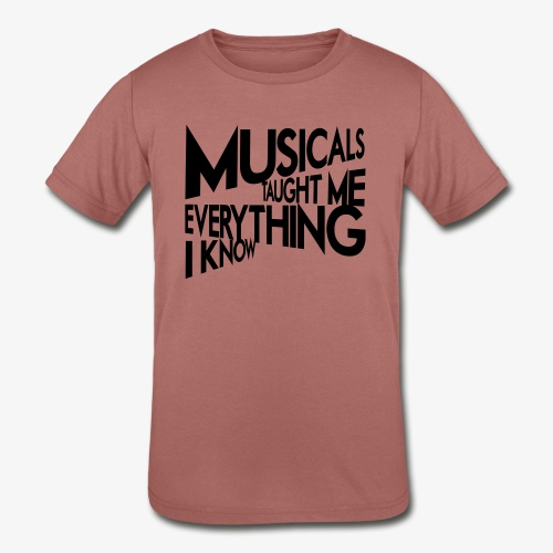 MTMEIK Black Logo - Kids' Tri-Blend T-Shirt