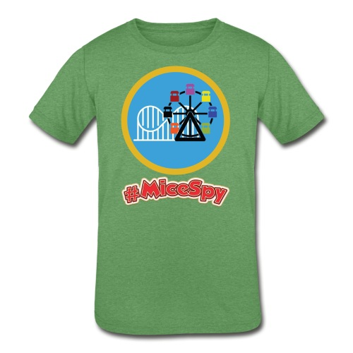 Paradise Pier Explorer Badge - Kids' Tri-Blend T-Shirt