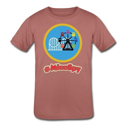 Paradise Pier Explorer Badge - Kids' Tri-Blend T-Shirt