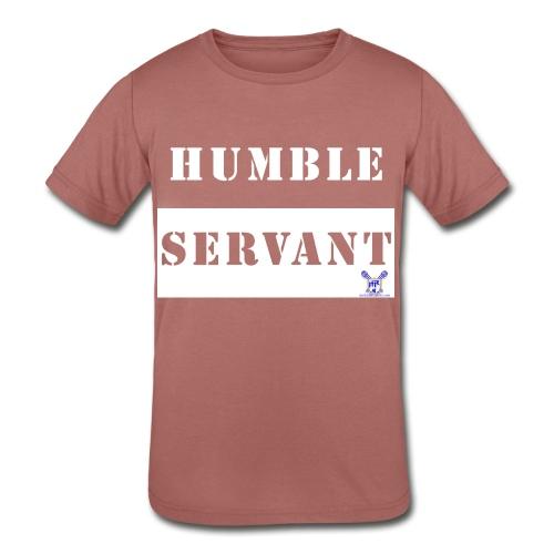 Humble Servant - Kids' Tri-Blend T-Shirt