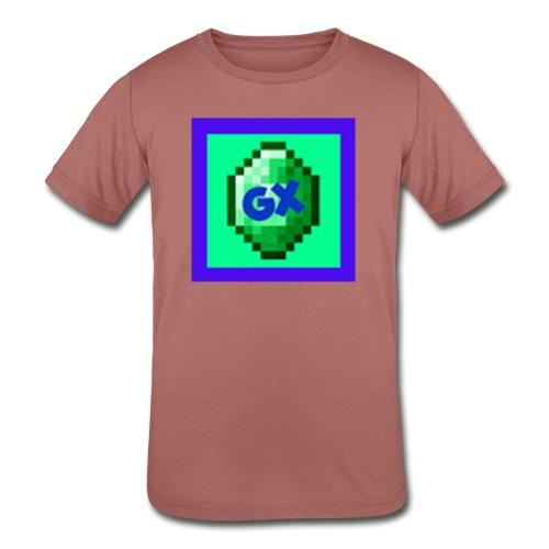 Glarexo Logo - Kids' Tri-Blend T-Shirt