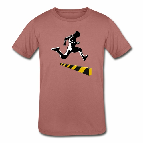 Leaping The Bounds of Caution - Kids' Tri-Blend T-Shirt