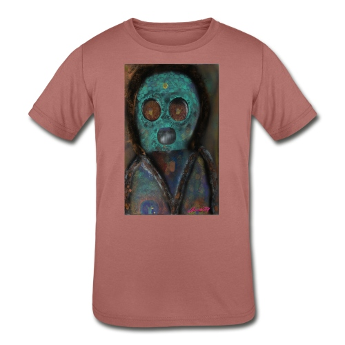 The galactic space monkey - Kids' Tri-Blend T-Shirt