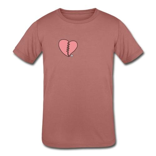 Heartbreak - Kids' Tri-Blend T-Shirt