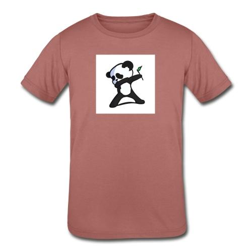 Panda DaB - Kids' Tri-Blend T-Shirt