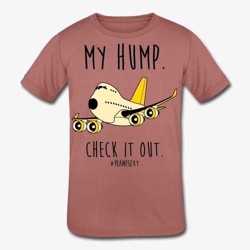 My Hump, Check it out! (Black Writing) - Kids' Tri-Blend T-Shirt