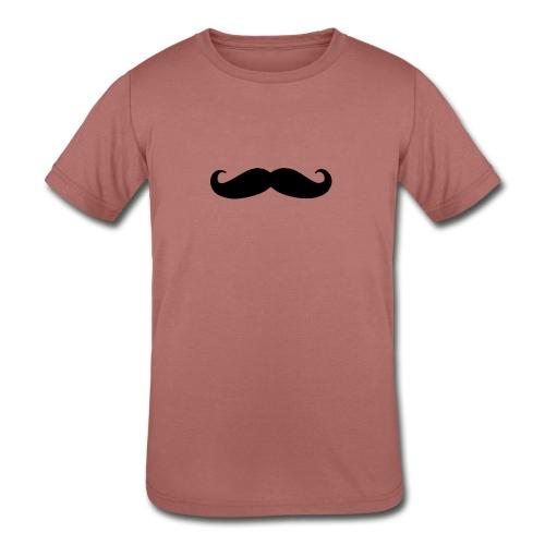 mustache - Kids' Tri-Blend T-Shirt