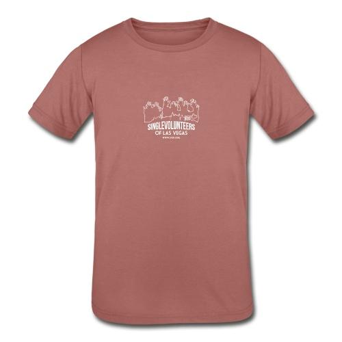 SingleVolunteers - Kids' Tri-Blend T-Shirt
