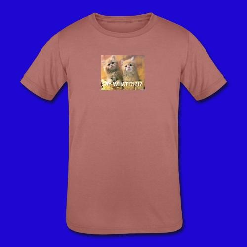 Cute Cats - Kids' Tri-Blend T-Shirt