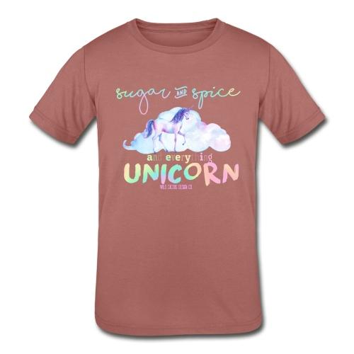 KIDS Everything Unicorn Shirt - Kids' Tri-Blend T-Shirt