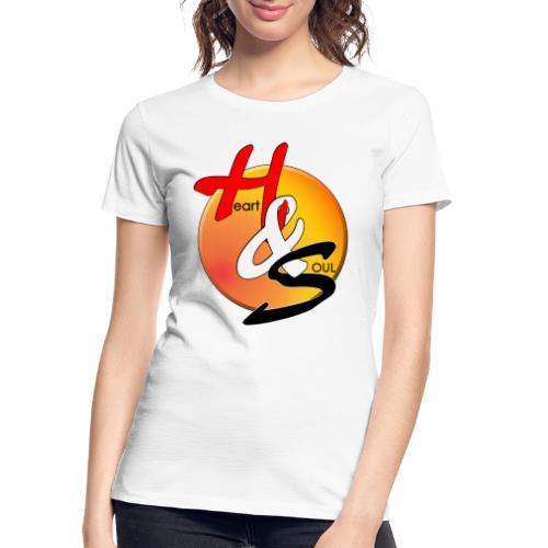 Rcahas logo gold - Women's Premium Organic T-Shirt