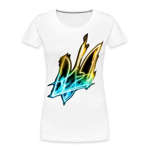 Ablaze trident - Women's Premium Organic T-Shirt