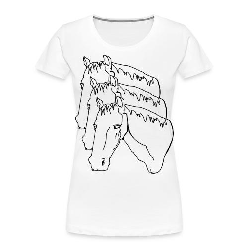 horsey pants - Women's Premium Organic T-Shirt