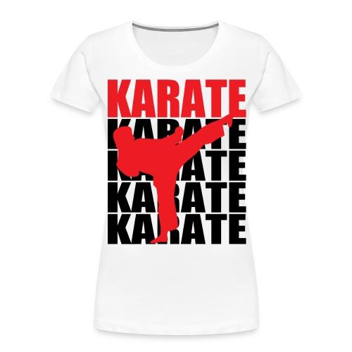 Karate - Women's Premium Organic T-Shirt