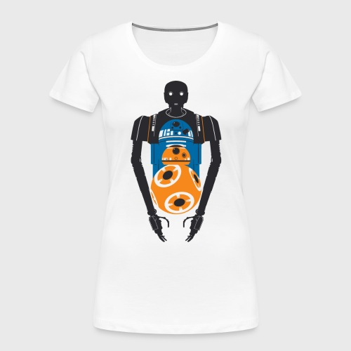 Star Wars Rogue One The Droids You're Looking For - Women's Premium Organic T-Shirt