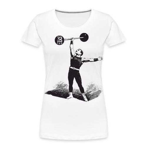 Women's 2Ton Sideshow Strongman Shirt - Women's Premium Organic T-Shirt