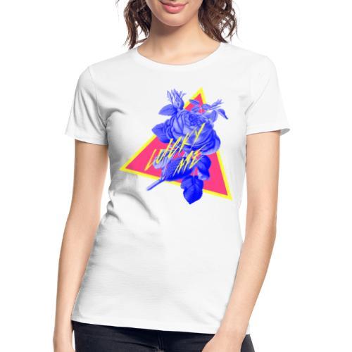 neon flower - Women's Premium Organic T-Shirt