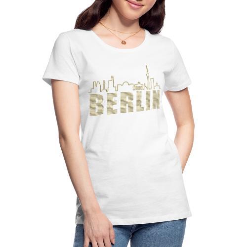 Skyline of Berlin - Women's Premium Organic T-Shirt