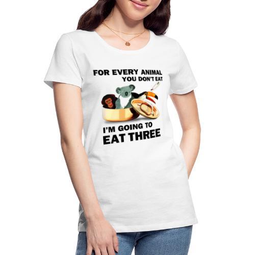 Every Animal Maddox T-Shirts - Women's Premium Organic T-Shirt