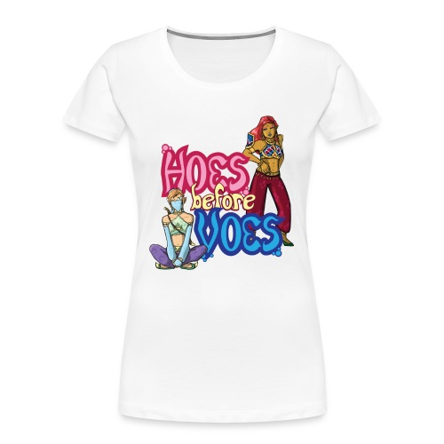 Hoes Before Voes - Women's Premium Organic T-Shirt