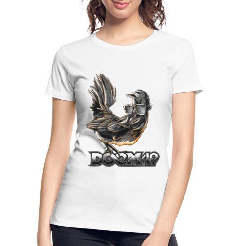 DooM49 Black and White Chicken - Women's Premium Organic T-Shirt