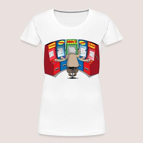 THE GAMBLIN' GRANNY - Women's Premium Organic T-Shirt