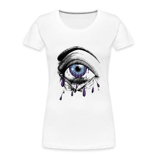 Lightning Tears - Women's Premium Organic T-Shirt