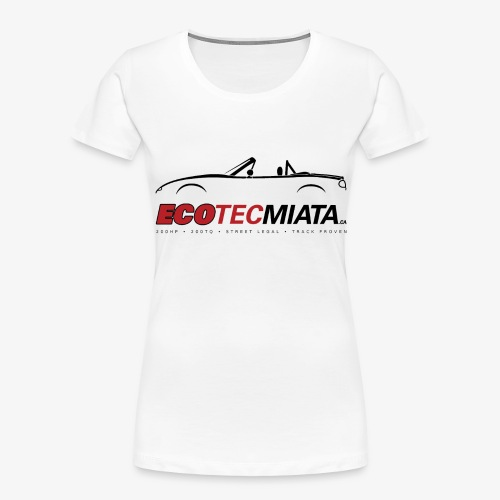 Ecotec Miata Logo - Women's Premium Organic T-Shirt