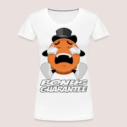 THE BONUS GUARANTEE PENNY - Women's Premium Organic T-Shirt