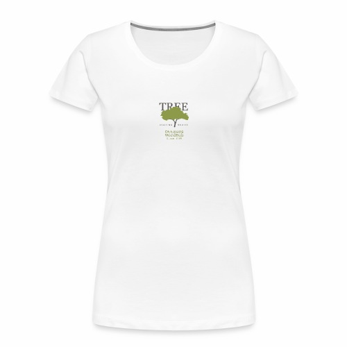 Tree Reading Swag - Women's Premium Organic T-Shirt