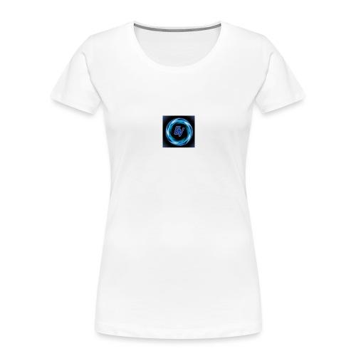 MY YOUTUBE LOGO 3 - Women's Premium Organic T-Shirt