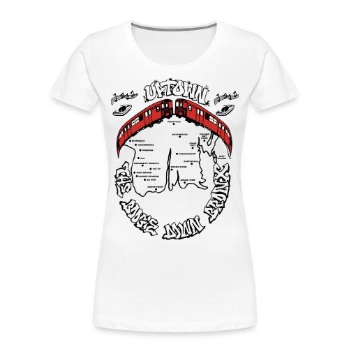 (artwork_195348) THE BOOGIE DOWN BRONX - Women's Premium Organic T-Shirt