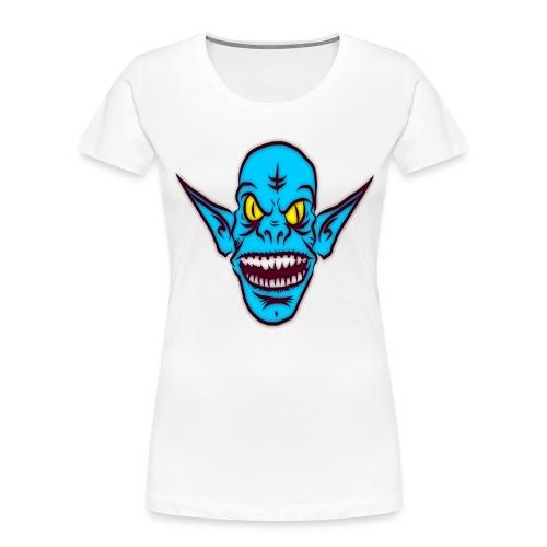 Alien Troll - Women's Premium Organic T-Shirt