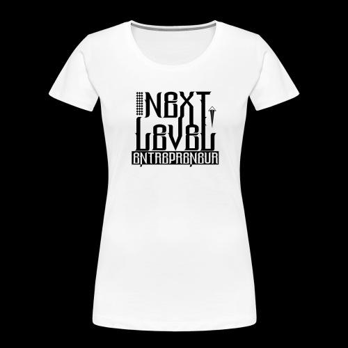 NEXT LEVEL ENTREPRENEUR - Women's Premium Organic T-Shirt