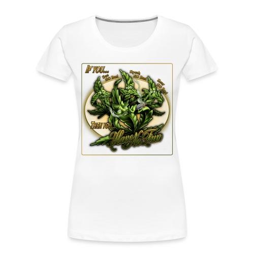 See No Bud by RollinLow - Women's Premium Organic T-Shirt