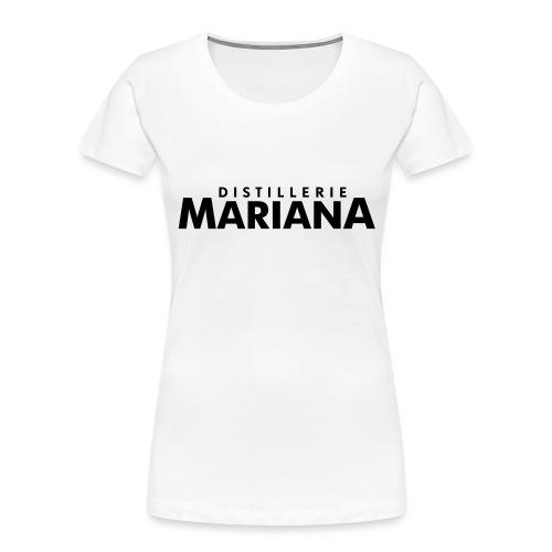 Distillerie Mariana_Casquette - Women's Premium Organic T-Shirt