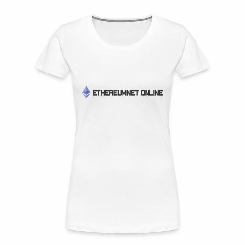 Ethereum Online light darkpng - Women's Premium Organic T-Shirt