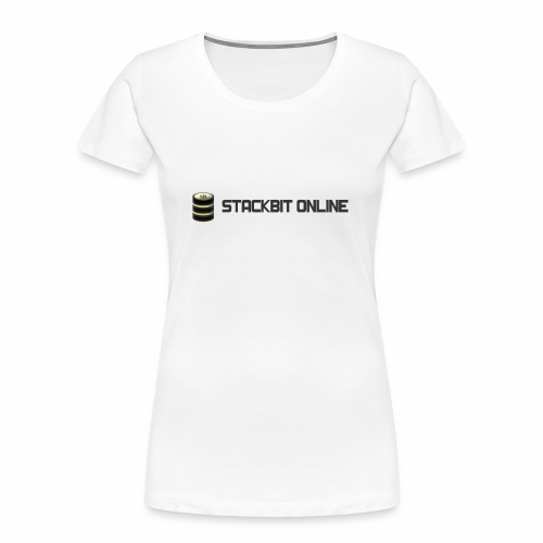 stackbit online - Women's Premium Organic T-Shirt